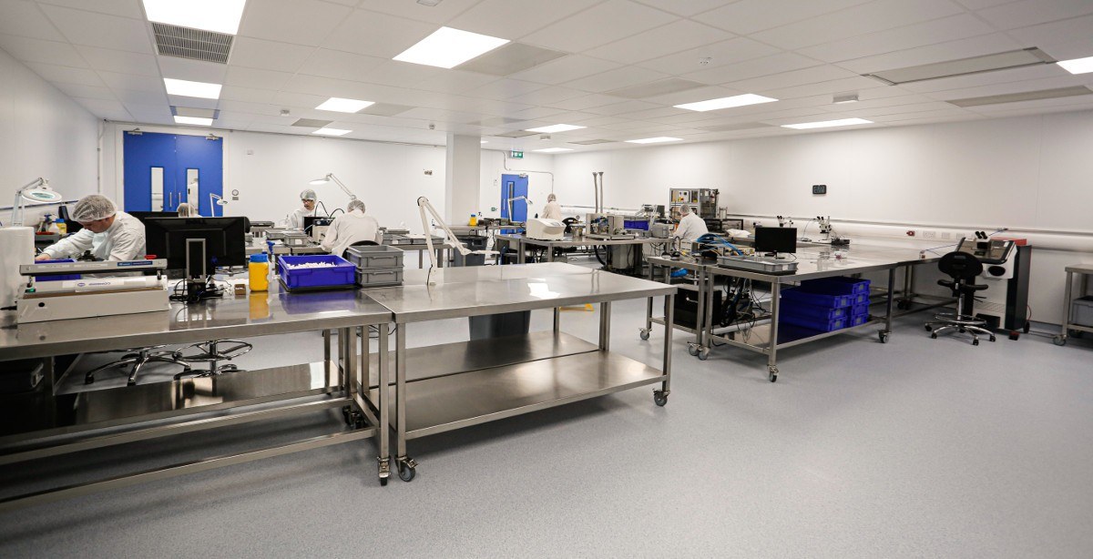 Sligo-Based Medical Device Specialist Arrotek Doubles Its Cleanroom Production Facilities