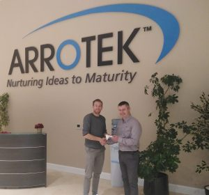Arrotek sponsors prize for the Innisfree Athletics Club Christmas Cracker
