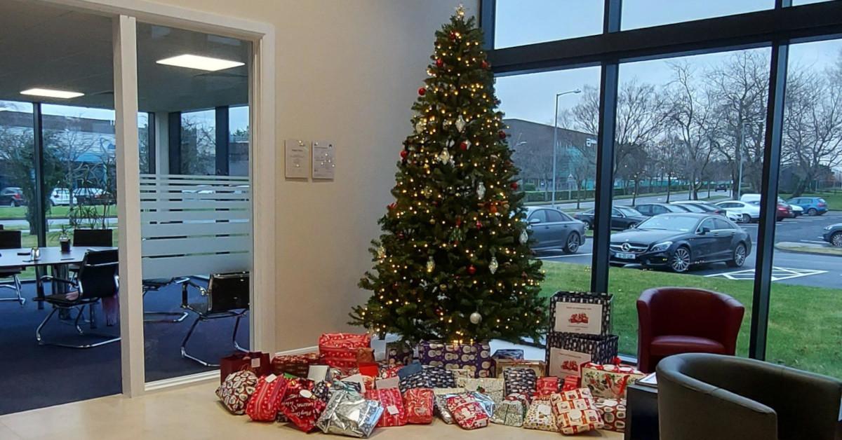 Donating Christmas Gifts to Nazareth House