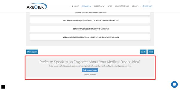 Medical device design and development calculator bonus tip