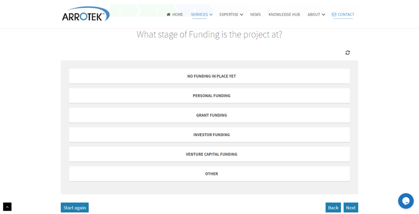 Step 6 - Funding