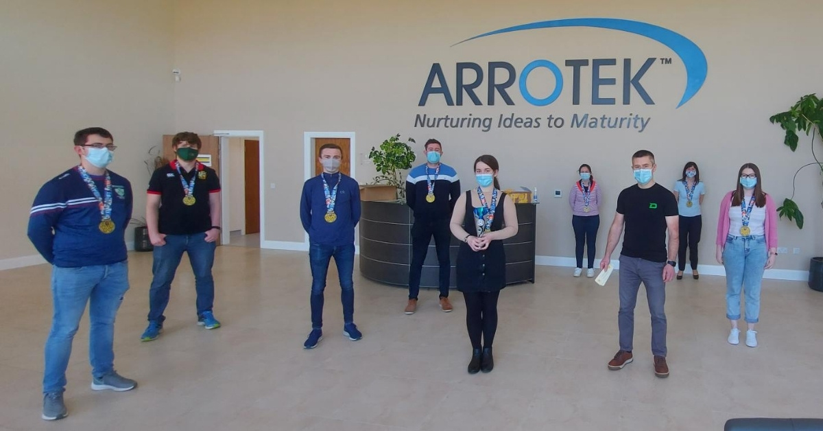 Arrotek Team Covers Over 3360km in March Fitness Initiative