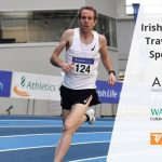 Irish Olympic hopeful John Travers proudly John Travers proudly sponsored by Arrotek, Ward Automation, and Verus Metrology