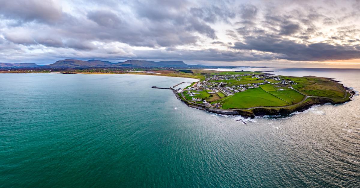 Sligo from sea