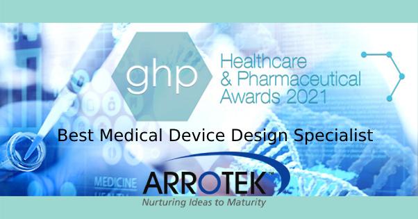 Arrotek Wins Best Medical Device Design Specialist Award